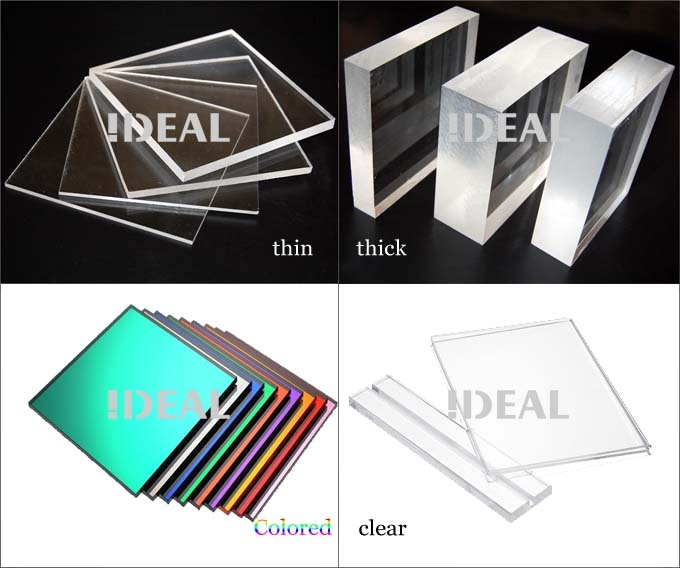the acrylic products price is based on the material