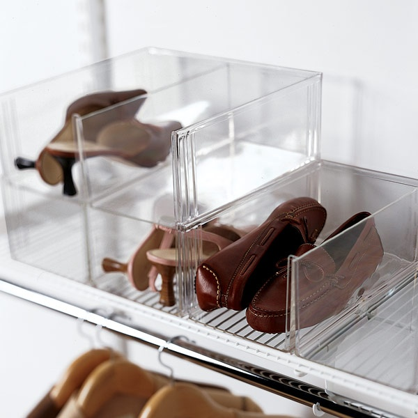 Container Store Acrylic Shoe Box