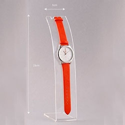 Clear Acrylic watch display