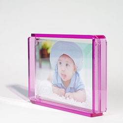 Handmade Acrylic Photo Frame