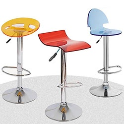 Clear Acrylic Bar Stools Chairs