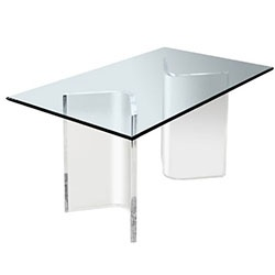 Nice Acrylic Table Dining Table