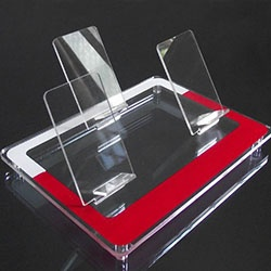Acrylic cellphone display holder