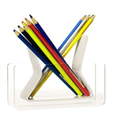 Clear Acrylic Pen Holder