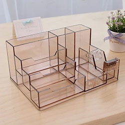 Personalized Multifunctional acrylic stationary holder