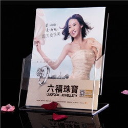Acrylic Brochure Holder display