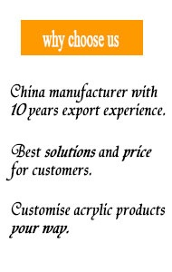 acrylic display manufacturer