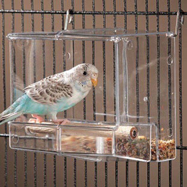Acrylic Bird Cage with feeder function