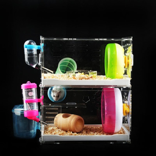 acrylic mouse cage for pet mouse