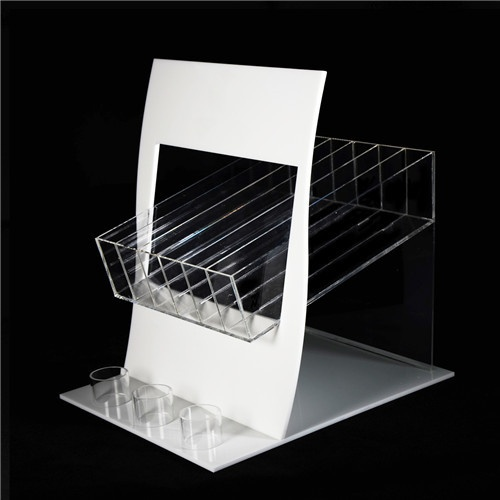 Display Stand Cosmetic Organizer Makeup Case